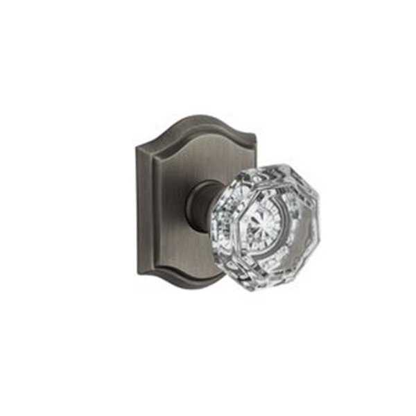HDCRYTAR003 Crystal Single Dummy Door Knob with Traditional Arch