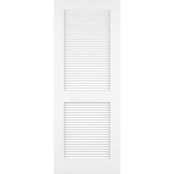 Frameport CLS-PD-L-6-2/3X2-5/6 Classic 34' by 80' Louver/Louver Interior Passage Door - N/A