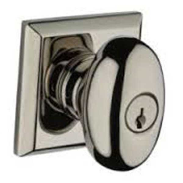 6AL DS Ellipse Single Cylinder Keyed Entry Door Knob Set