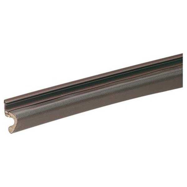 1 x 8 ft. Kerfed Door Seal, Bronze